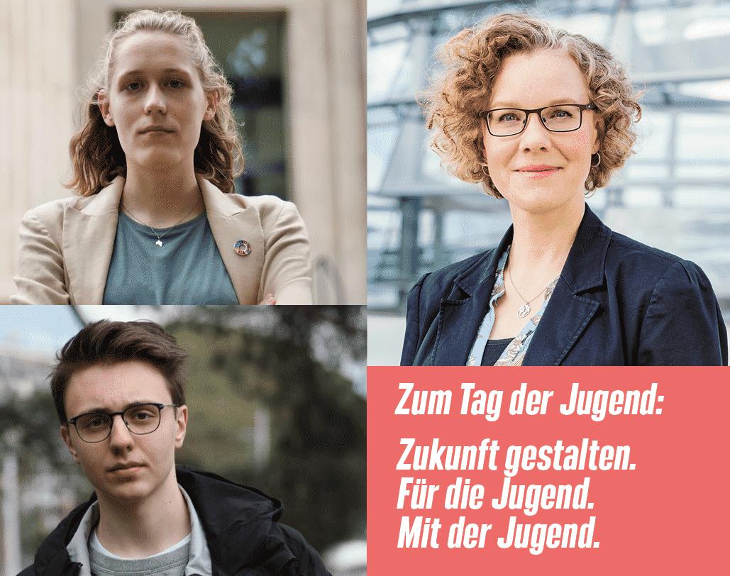 Emily Karius, Julia Verlinden und Linus Steinmetz