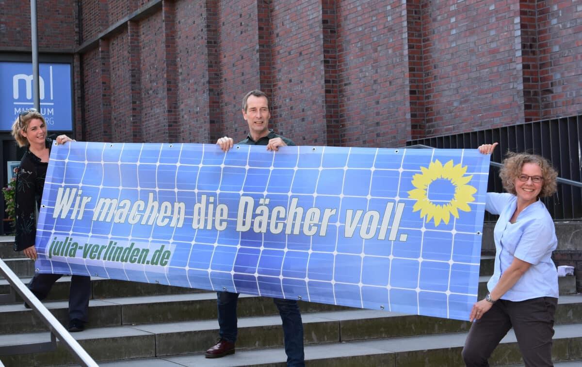 Aktion für mehr Solaranlagen auf den Dächern